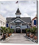 Balboa Downtown Main Street In Newport Beach Acrylic Print by Paul Velgos