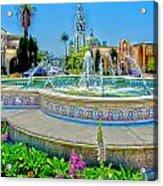 Balboa Park Tower Acrylic Print