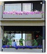 Balconies 4 Acrylic Print