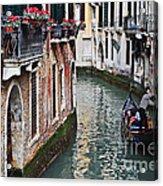 Balcony And The Gondola Acrylic Print