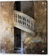 Balcony At Les Invalides Paris Acrylic Print