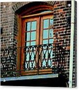 Balcony Doors Acrylic Print