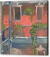 Balcony I Acrylic Print