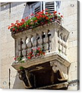 Balcony In Split Croatia Acrylic Print