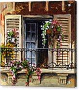 Balcony Of Ferrara Acrylic Print