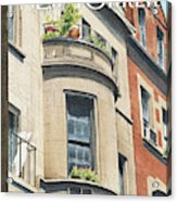 Balcony Scene Acrylic Print