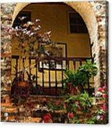 Balcony St Lucia Acrylic Print