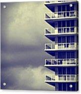 Balcony Study Acrylic Print