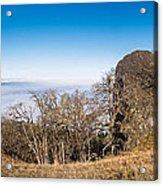 Bald Hills Vista Panorama Acrylic Print