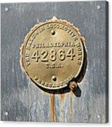 Baldwin Locomotive Acrylic Print