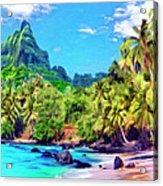 Bali Hai Acrylic Print