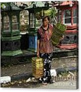 Bali Indonesia Proud People 1 Acrylic Print