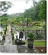 Bali Lake side Acrylic Print