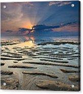 Bali Sunrise Acrylic Print