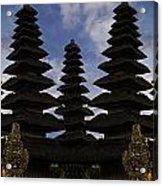 Bali Water Temple Acrylic Print