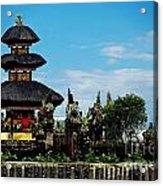 Bali Wayer Temple Acrylic Print