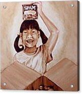 Balikbayan Box Acrylic Print