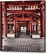 Balikun Xibo Temple Acrylic Print