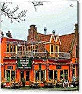 Balkan Restaurant In Enkhuizen-netherlands Acrylic Print