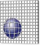 Ball In The Net Acrylic Print