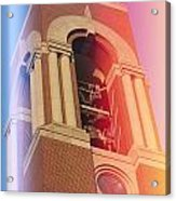 Ball State Bell Tower Acrylic Print