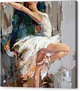 Ballerina 22 Acrylic Print