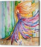 Ballerina Curtain Call Acrylic Print