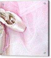 Ballerina Dreams Acrylic Print