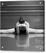 Ballerina Resting Acrylic Print by Allegresse Photography