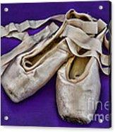Ballerina Slippers Acrylic Print