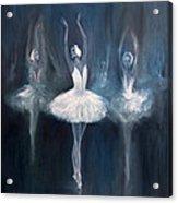 Ballerina. Swan Lake. Acrylic Print