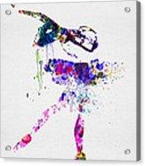 Ballerina Watercolor 2 Acrylic Print