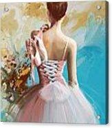 Ballerina's Back  Acrylic Print