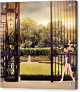 Ballet At The Vanderbilt Gate Acrylic Print
