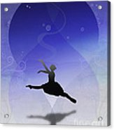 Ballet In Solitude  Acrylic Print