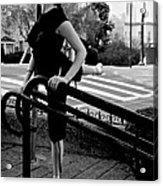 Ballet On Lombard Street Acrylic Print