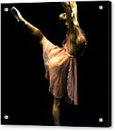 Ballet On The Toe Acrylic Print