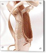 Ballet Shoe Acrylic Print by Kitty Ellis