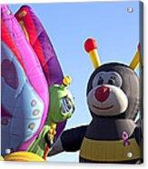 Balloon Bug Talk Acrylic Print