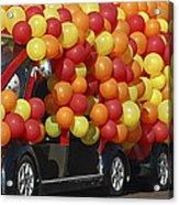 Balloon Car Acrylic Print