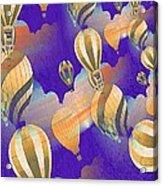 Balloon Fantasy Acrylic Print