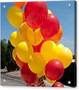 Balloon Girl Acrylic Print