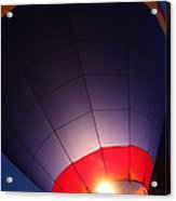 Balloon-glowpurple-7710 Acrylic Print