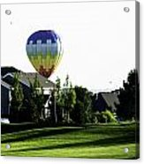 Balloon House Acrylic Print