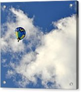 Balloon In The Clouds Acrylic Print