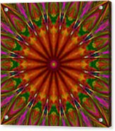Balloon Kaleidoscope Acrylic Print