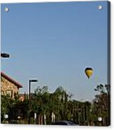 Balloon Over Lorimar Acrylic Print