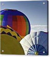Balloon Pillows Acrylic Print