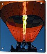 Balloon Ride At Dawn Acrylic Print