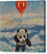 Balloon Ride Acrylic Print by Michael Creese